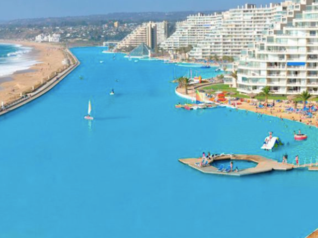 The World's Largest Pool Is Honestly Just Too Big