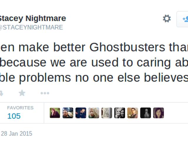Το Twitter αντιδρά στα cast Ghostbusters