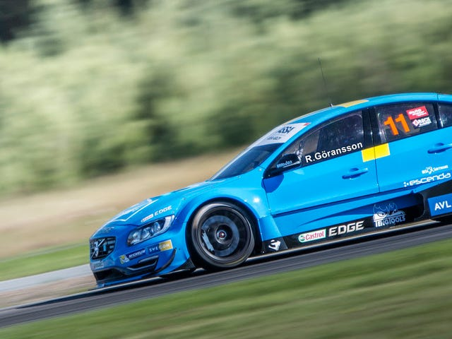 There's something immensely satisfying about seeing a Volvo S60 in racing trim