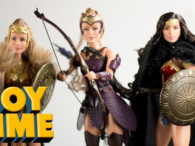 Wonder Woman Makes Barbie Look Good