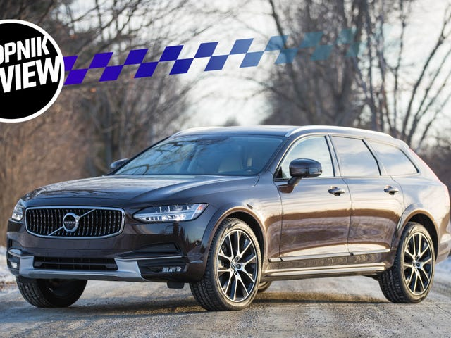 The 2017 Volvo V90 Cross Country Will Make You Demand The Wagon Life