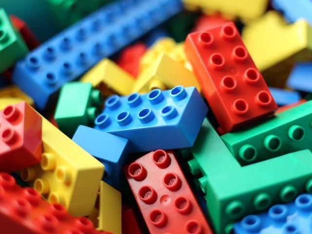 Du är en av de bästa tjejerna på Lego
