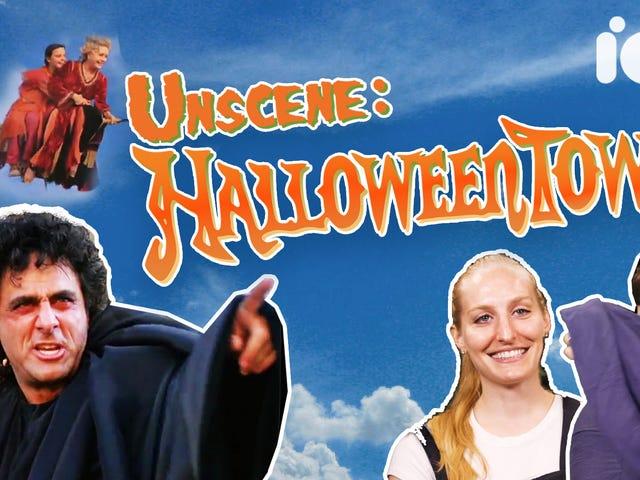 우리는 디즈니 채널의 Halloweentown 타운의 복음을 처음 보는 사람들에게 전파했습니다.