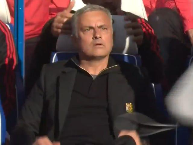José Mourinho ne tolère plus trop les célébrations, apparemment