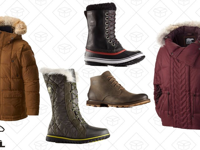 Make Dealing With Winter Weather a Piece Of Cake With Up to 65% Off Sorel Gear