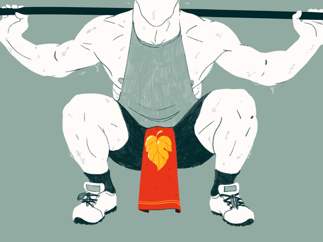 Why Are Men at the Gym Wearing Dick Towels? Jezebel Investigates