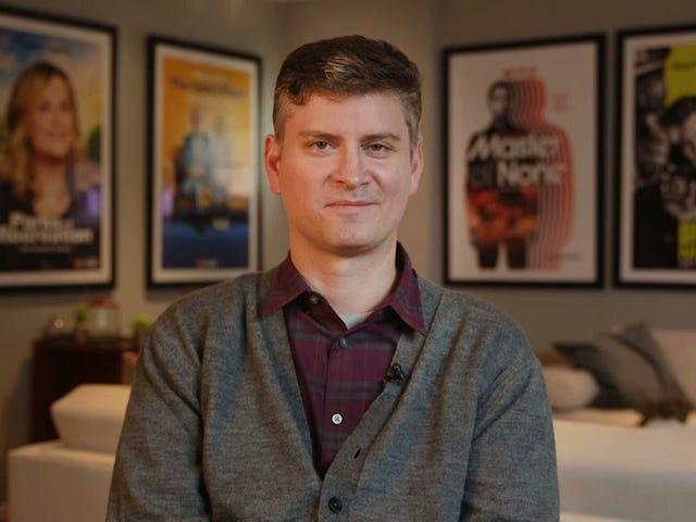 Michael Schur apresentou o prêmio Deadspin por pior take