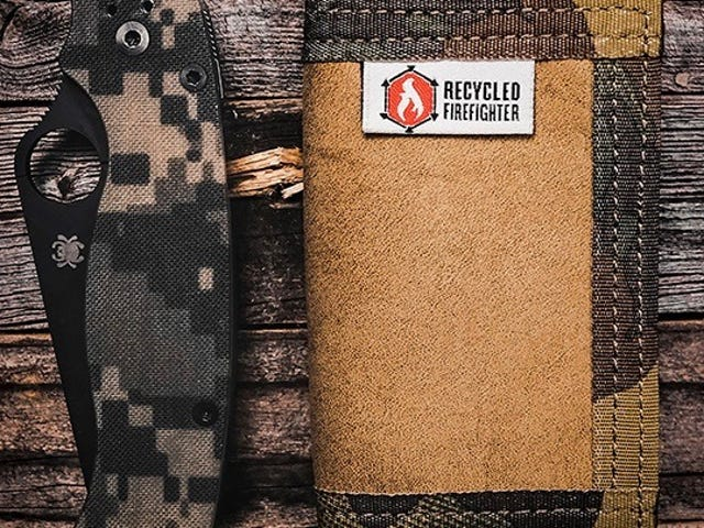 Save 50% On These Sturdy, Recycled Fire Hose Wallets ($19)