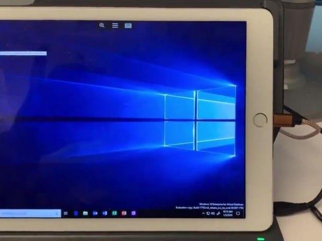 Microsoft trabaja en una de las pesadillas de Apple: la posibilidad de usar el iPad como un PC con Windows
