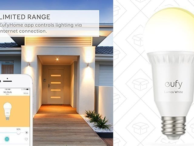 Upgrade to Anker's Smart Lightbulbs For Just $13 Each, No Hub Required