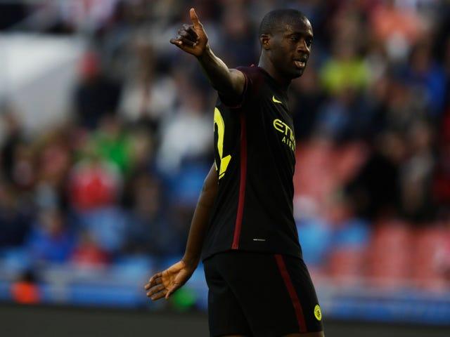 Yaya Touré não jogará para a City do Homem novamente, a menos que o seu agente Shir-Falking se desculpe