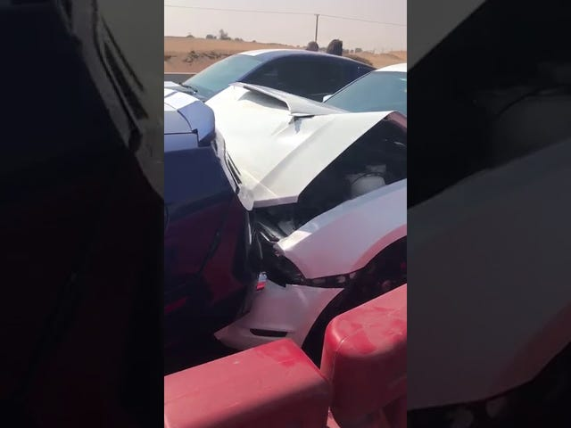 Dubai, Mustangs, Car meet, you figure out the rest
