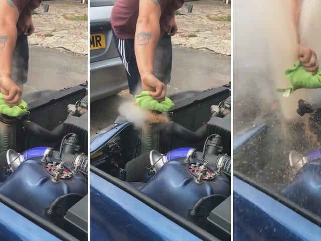 Here's Why You Don't Open a Radiator Cap When It's Boiling Hot