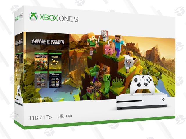 Get Crafty With This Xbox One S Early Black Friday Deals