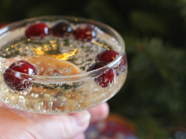 Chill Your Festive Beverages With Frozen Cranberries