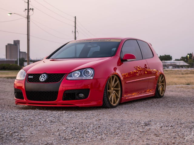 VW Golf GTi photoshoot