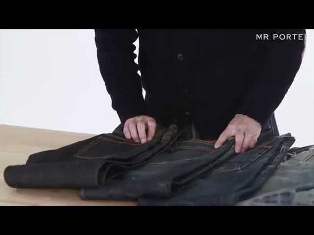This Video Explains How to Properly Care for Your Raw Denim Jeans