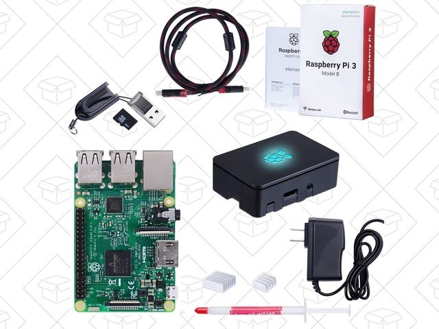 Build Your Own Mini Game Console For $58 With This Raspberry Pi Starter Kit