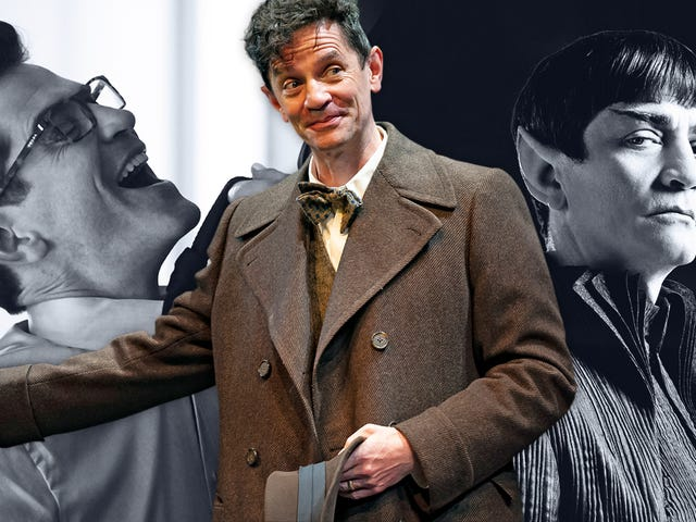 James Frain on playing Spock's dad and wearing the biggest fangs on True Blood