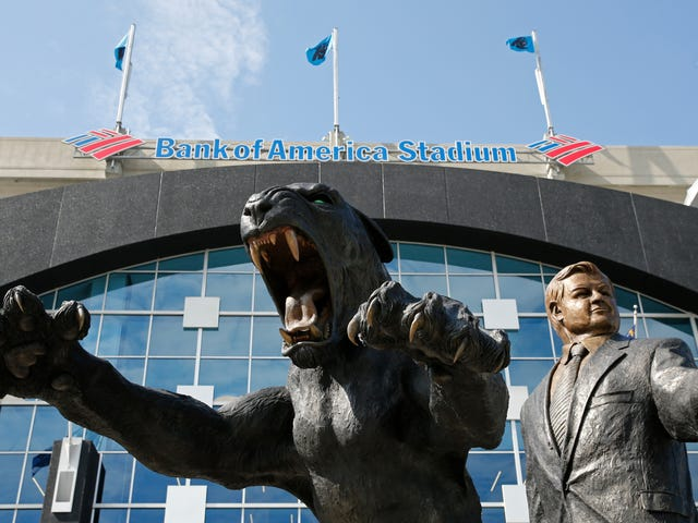 Jerry Richardson's Statue Is Staying Put At The Carolina Panthers' Stadium