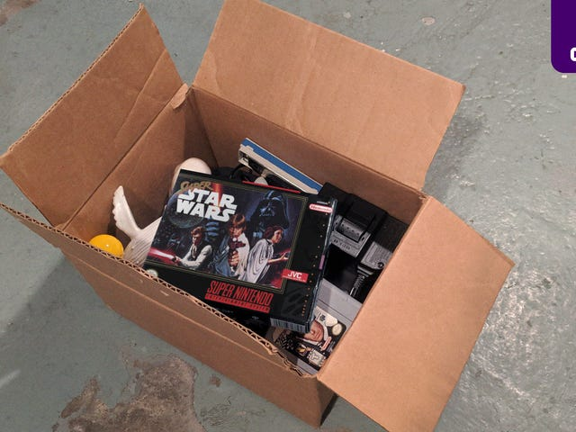 Deal Alert: There Is A Free Copy Of 'Super Star Wars' Our Mom Is Going To Throw Out After She Found It In The Basement
