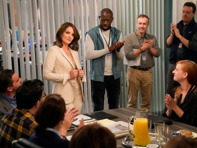 Tina Fey becomes Nu-Jack Donaghy on the Great News season premiere