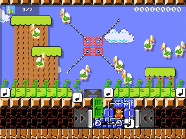 Player Makes Duck Hunt In Mario Maker 2