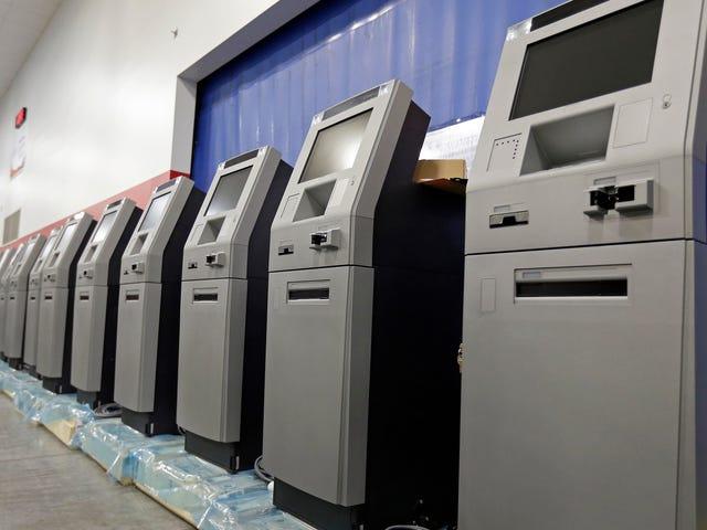 Apparemment, une façon de pirater les guichets automatiques appelés «jackpotting» s'est répandue aux États-Unis
