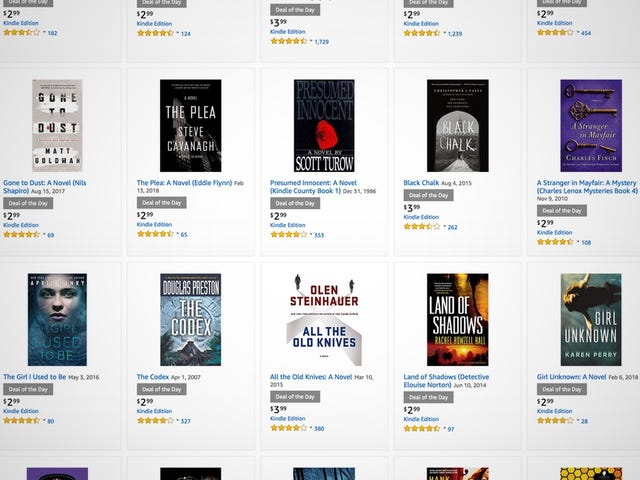 Download Some Mysteries and Thrillers to Your Kindle For a Few Bucks Each