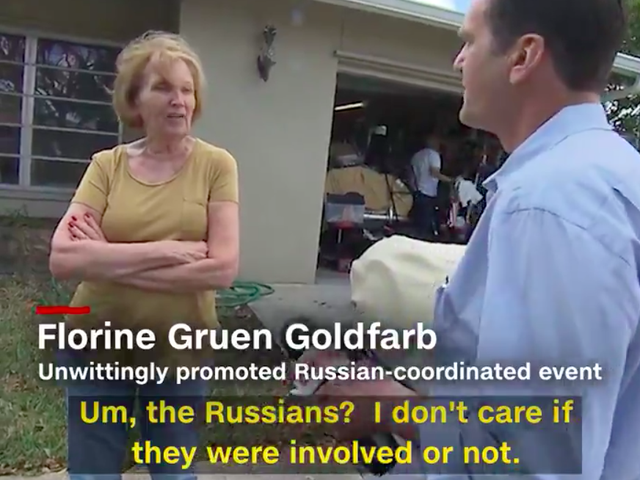 'Patriotic' Trump Supporter Finds Out She Was Tricked by Russian Trolls and Her Reaction Is Hilarious