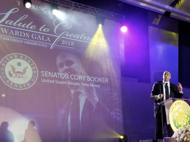 Cory Booker Looked Poised for 2020 as He and San Juan, Puerto Rico, MayorCarmen Yulín CruzWere Honored by the King Center in Atlanta