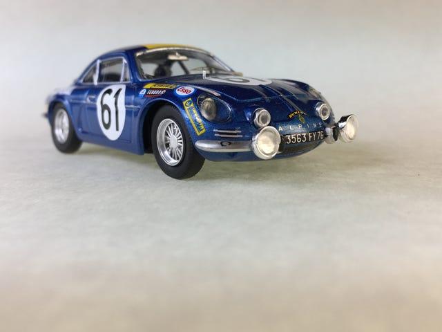 Car Week 60's Alpine A110