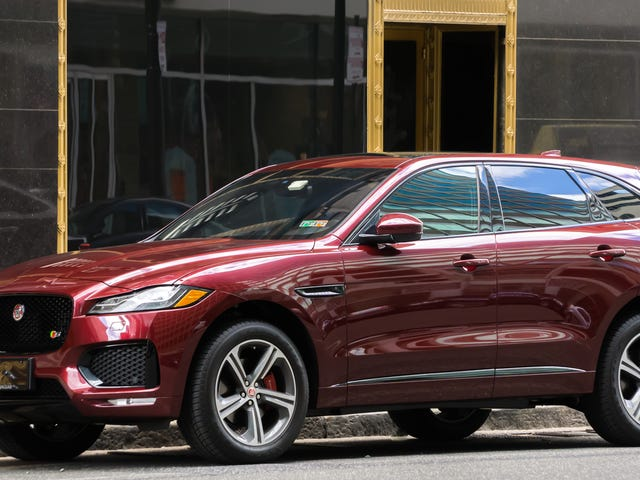 Saw an F-Pace in Philly
