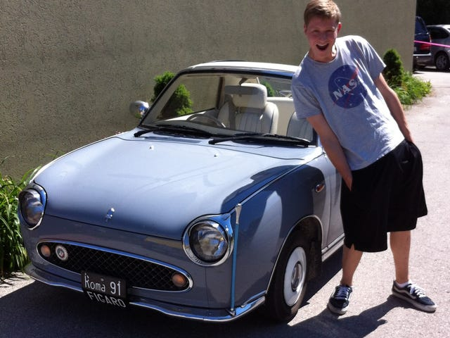 Spotted: Nissan Figaro In 'Murica