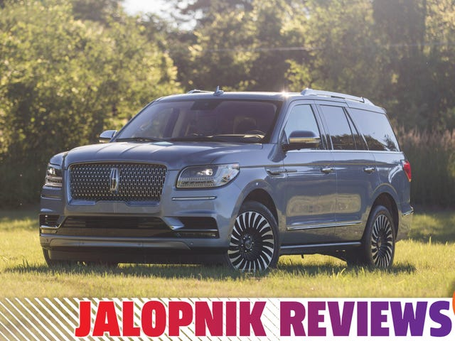 The 2019 Lincoln Navigator Is A Glorious Return To American Opulence