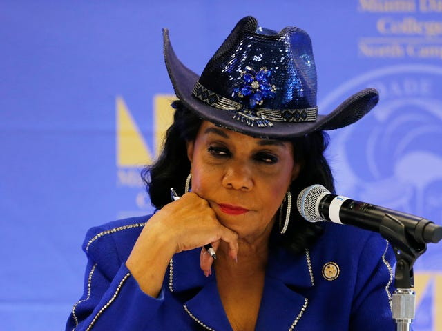 John Kelly Should STFU About Rep. Frederica Wilson