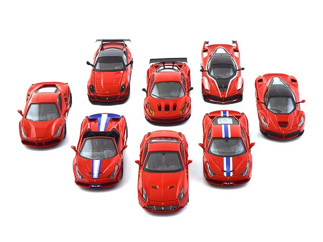 No, Kyosho, don't line them up like that!