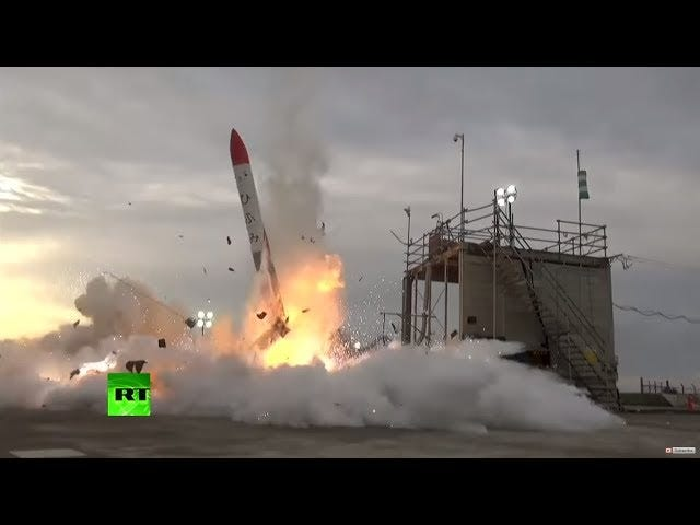 Japanese Rocket Fails To Reach Orbit