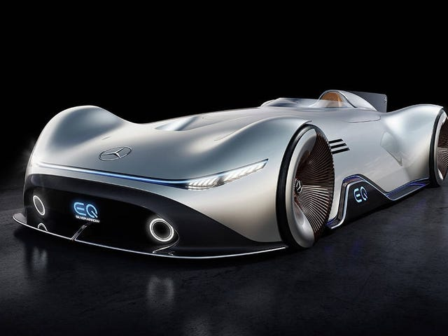 The Mercedes-Benz EQ Silver Arrow is a Gorgeous 1937 Throwback Electric Concept
