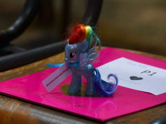 My Little Pony Ruled Paris Fashion Week in Manish Arora's Spring Collection