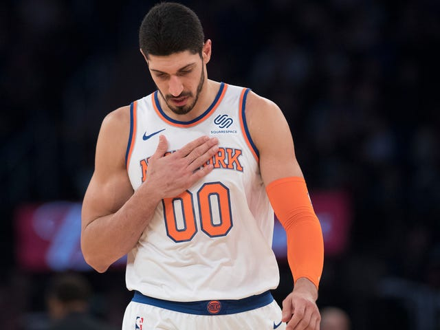 Report: Turkish Authorities Are Trying To Get Enes Kanter Arrested