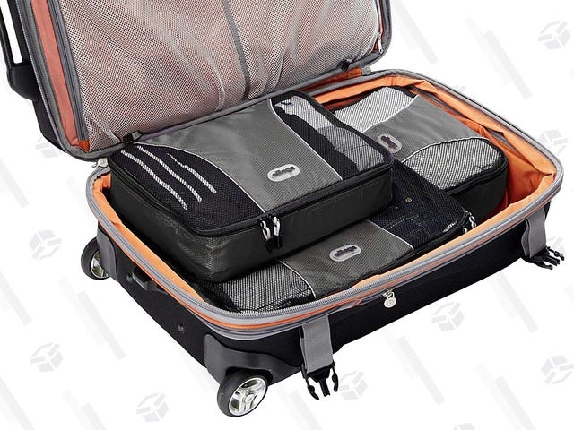 Travel Like an Expert With These Rarely Discounted eBags Packing Cubes