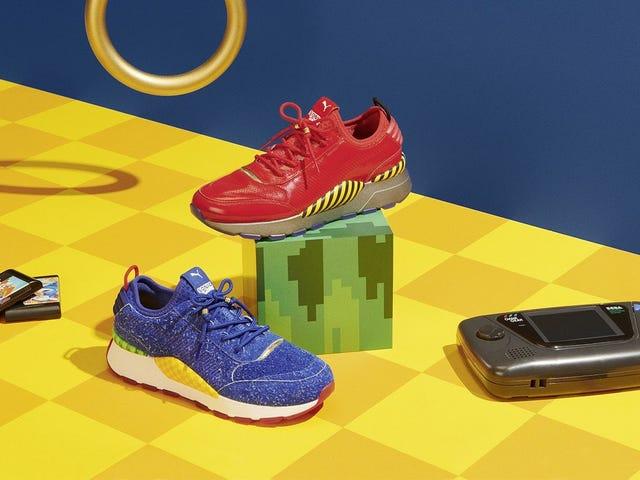 Als de aankomende Sonic-sneakers van Puma een beetje harig zijn voor jouw smaak, laten ze ook een Eggman vrij