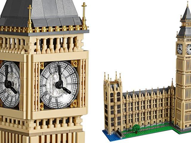Legos næste arkitektoniske mesterværk er en tofødt-høj replik af Big Ben