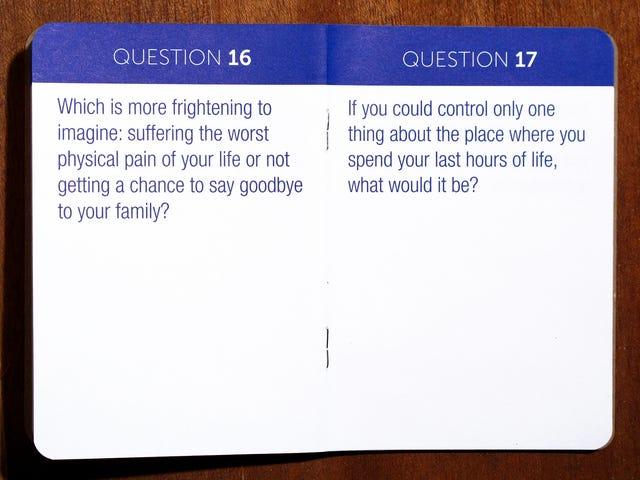 Ett nytt spel hjälper dig att navigera på svåra slutliga samtal