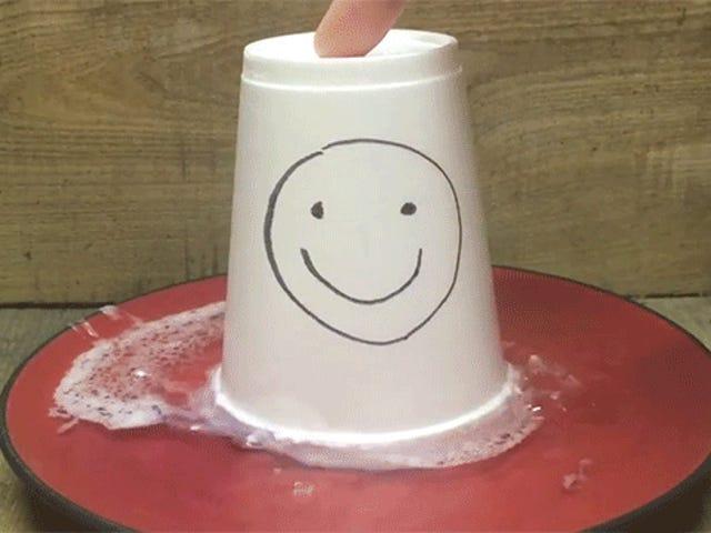 Styrofoam disolverse en acetona es lo que parece dejar de funcionar