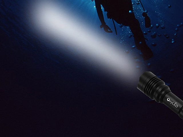 This $27 Waterproof Flashlight Is Really, Really Bright