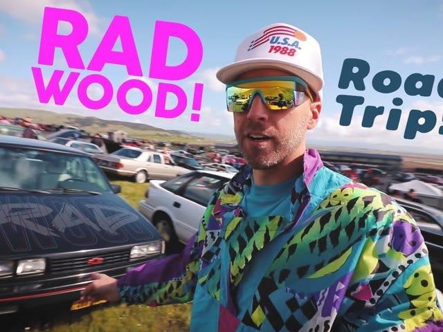 Hello Road goes to Radwood