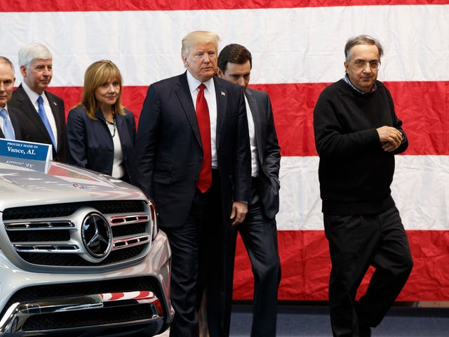 Trump On Sergio Marchionne: 'He Is My Favorite'