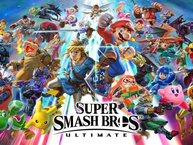今天从Kotaku的读者社区中选择的文章:Super Smash Bros. Ultimate是Gaming最伟大的情书给...